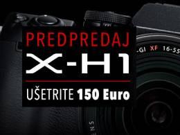 Fujifilm X-H1 v predpredaji so zľavou 150€
