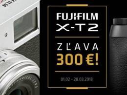 Zľavy na Fujifilm X-T2: 300€ / X100F: 100€